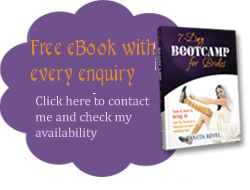Gift eBook with every inquiry: 7 Day Bootcamp for Brides