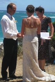 Anita is a popular celebrant in the south west of western australia