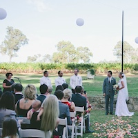 leeuwin estate winery wedding