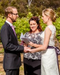 amazing wedding day in margaret river at a winery
