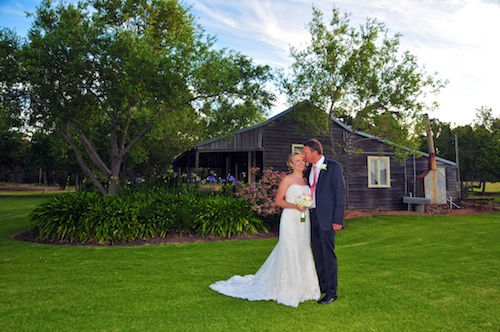 wedding day photo at flutes margaret river groupy
