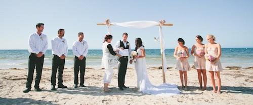 Beach Wedding In Busselton By Celebrant Anita Revel Photos Rae Marie
