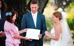 wedding at Old Broadwater Farm in Busselton