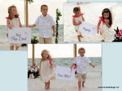 wedding signs suitable for 3 children