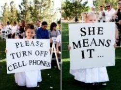 wedding sign for an unplugged wedding