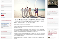 multi award-winning Celebrant Margaret River
