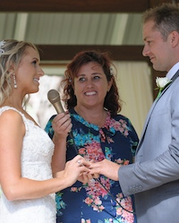 married in yallingup by celebrant anita revel