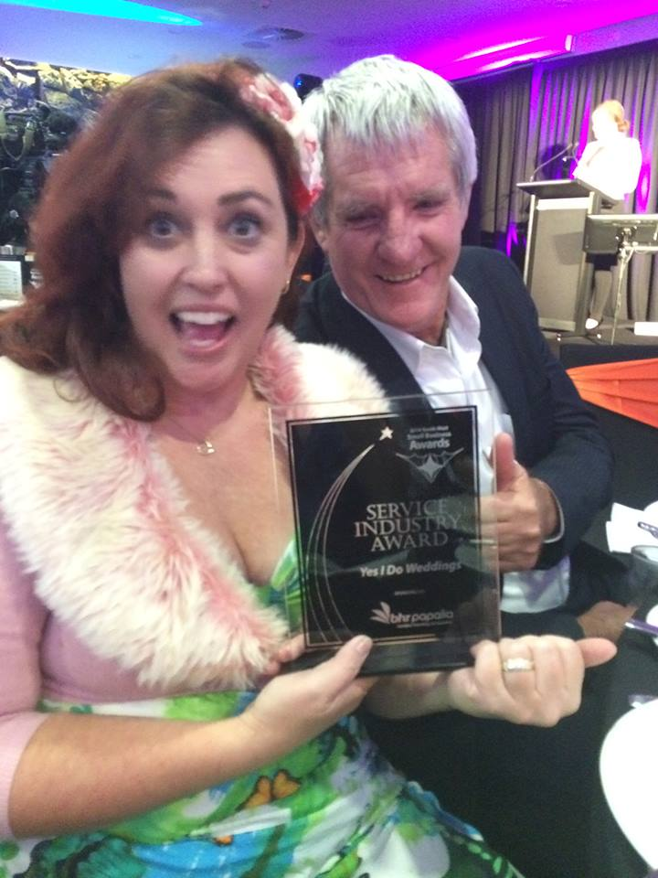 business awards winner Anita Revel Celebrant Margaret River