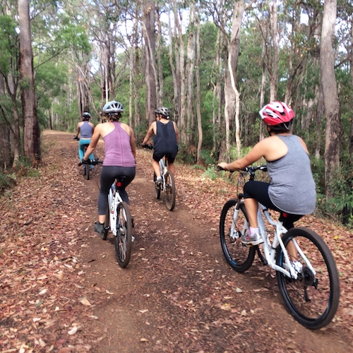 cycling and hiking trail margaret river
