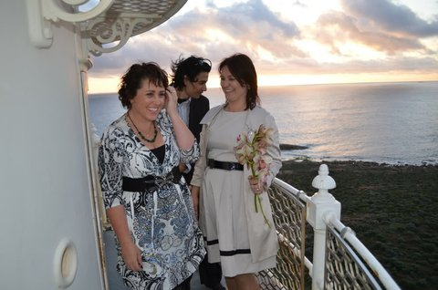 History Margaret River: 1st wedding at the Cape Leeuwin lighthouse