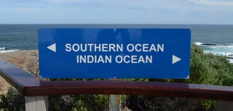 where the southern and indian oceans meet