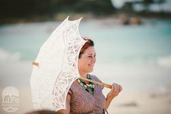 beach wedding celebrant